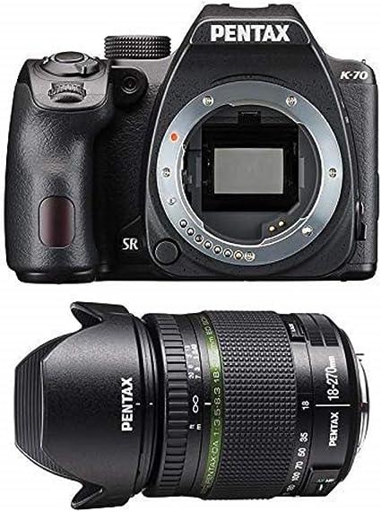 Pentax K 70 Gehäuse Inklusiv Smc Da 18 270 Mm Kamera