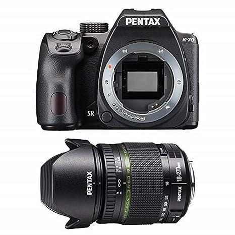 Pentax K70 + 18-270 - Cámara réflex, Color Negro: Amazon.es ...