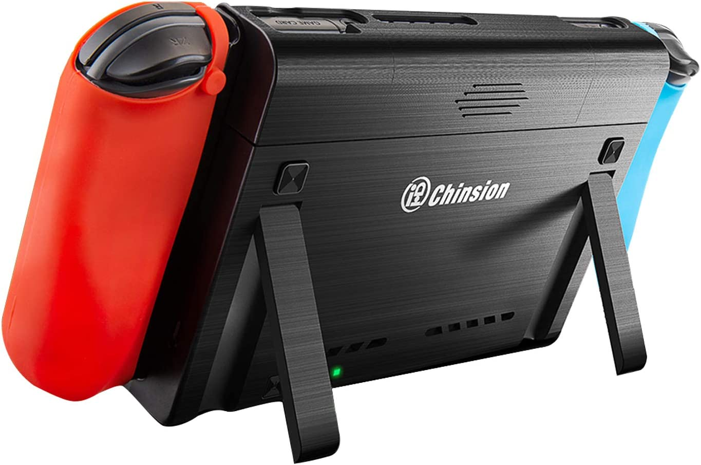 ID CHINSION 10000mAh Battery Charger Case for Nintendo Switch, Portable Pop-Up Backup Extended Travel Battery Pack for Switch Games and Accessories, ...