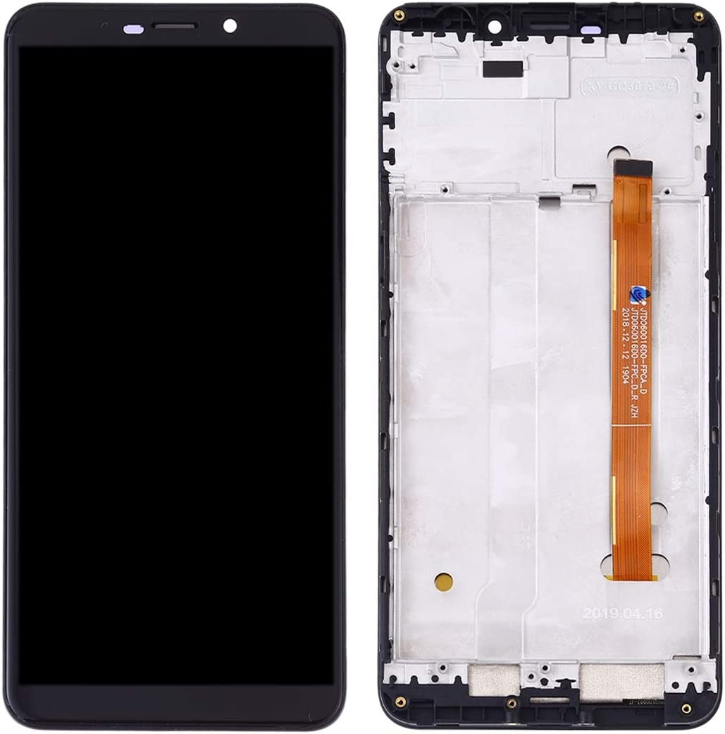 Spare Part Color : Black EasePoints for LCD Screen and Digitizer Full Assembly for Ulefone Power 3L Black