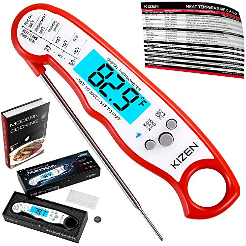 Pocket Probe Thermometer Gauge For BBQ Meat Food (Stainless Steel) - 7