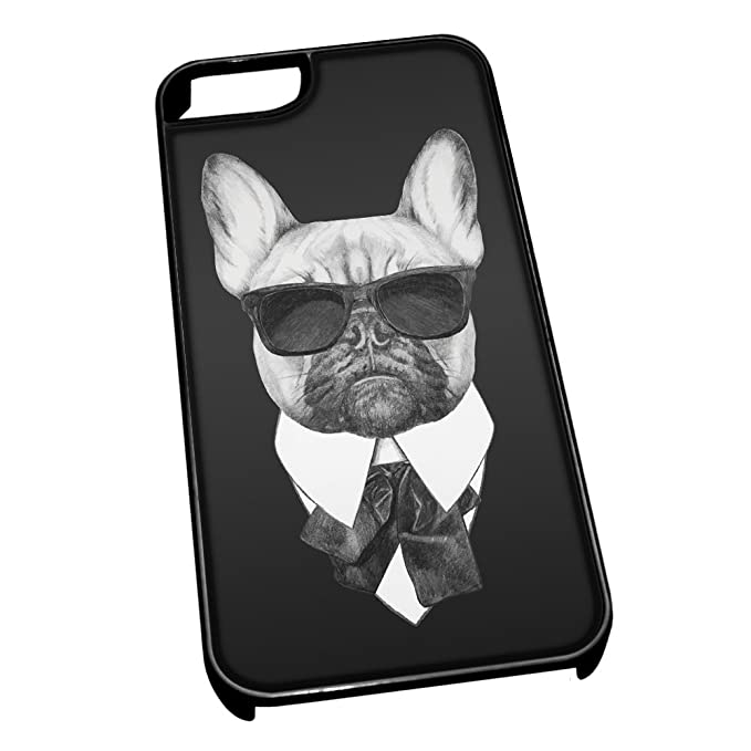 cover iphone 5 bulldog francese