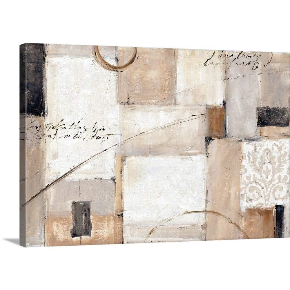 リサ監査プレミアムシックラップキャンバス壁アート印刷題名抽象バランスI 24