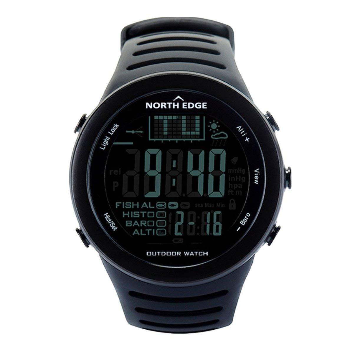 JullyeleDEgant North Edge 720 Outdoor Angeln Uhr Höhenmesser Barometer Thermometer Männer Smart Digital Sportuhr Für Klettern Wandern