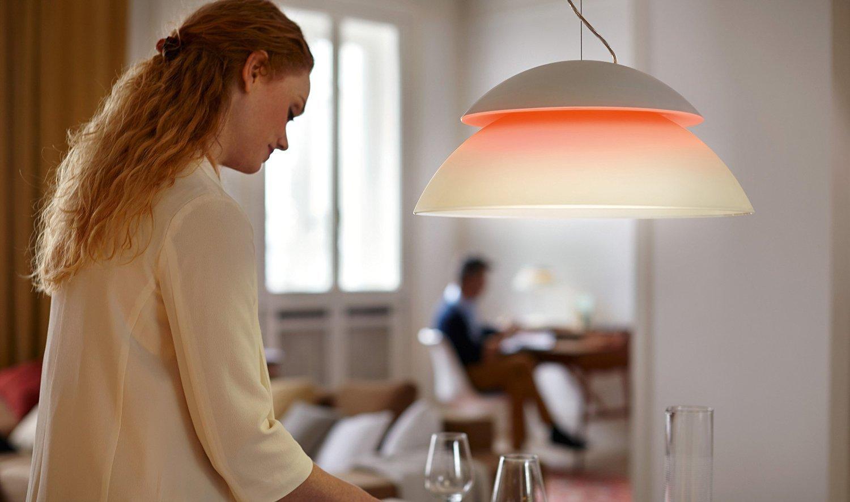 Philips Hue LED Pendelleuchte Beyond Erweiterung, dimmbar, bis zu 16 ...