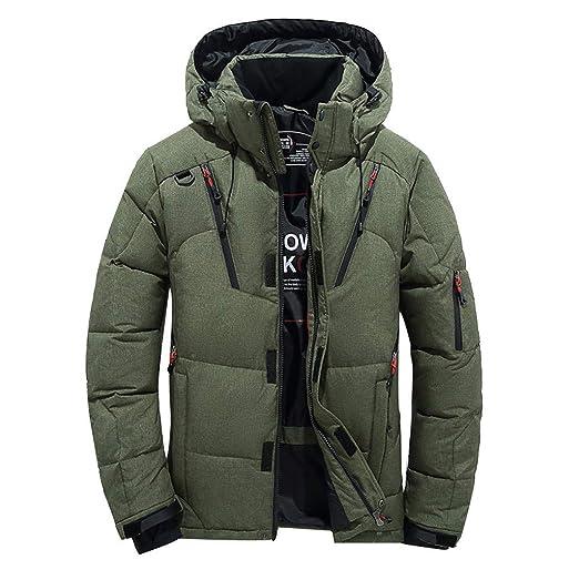 bd8c3fe27c0d Rambling New Men Down Thick Jacket, Fashion Parkas Snow Jacket Men's  Clothing Brand Winter Jacket Down Jacket at Amazon Men's Clothing store:
