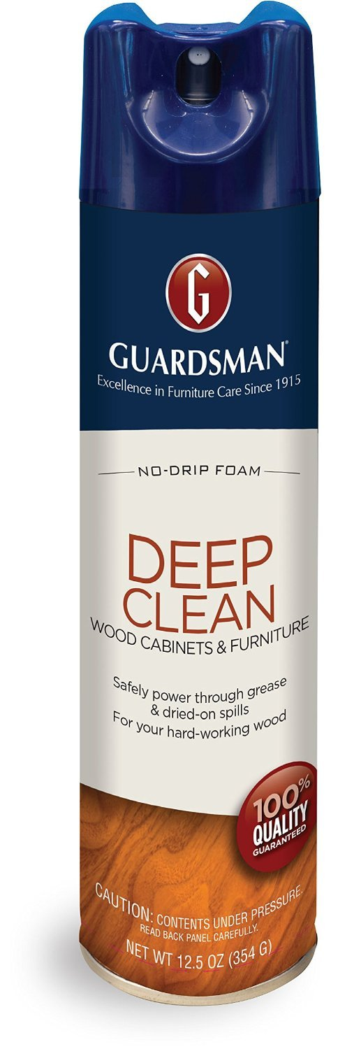 Guardsman Deep Clean - Purifying Wood Cleaner - 12.5 oz Streak Free, Doesn't Attract Dust 460500