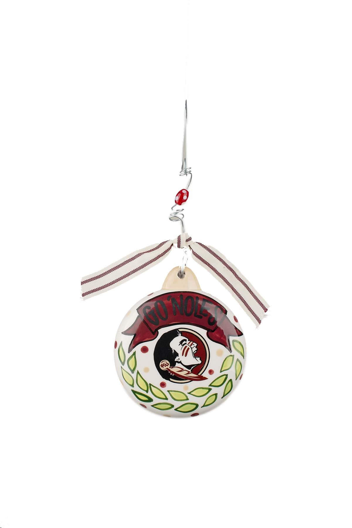 Glory Haus Florida State Puff Ornament, Multicolor by Glory Haus