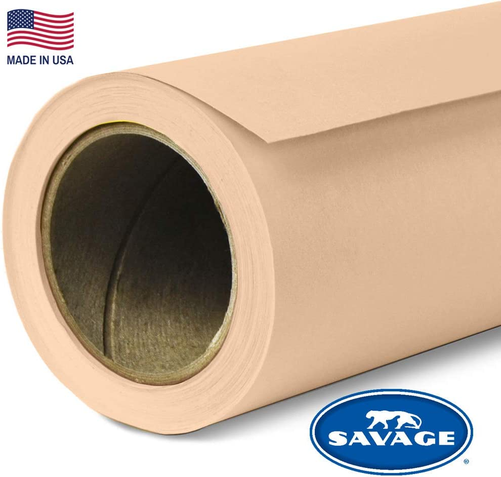 Savage Seamless Background Paper - #25 Beige (107 in x 36 ft)