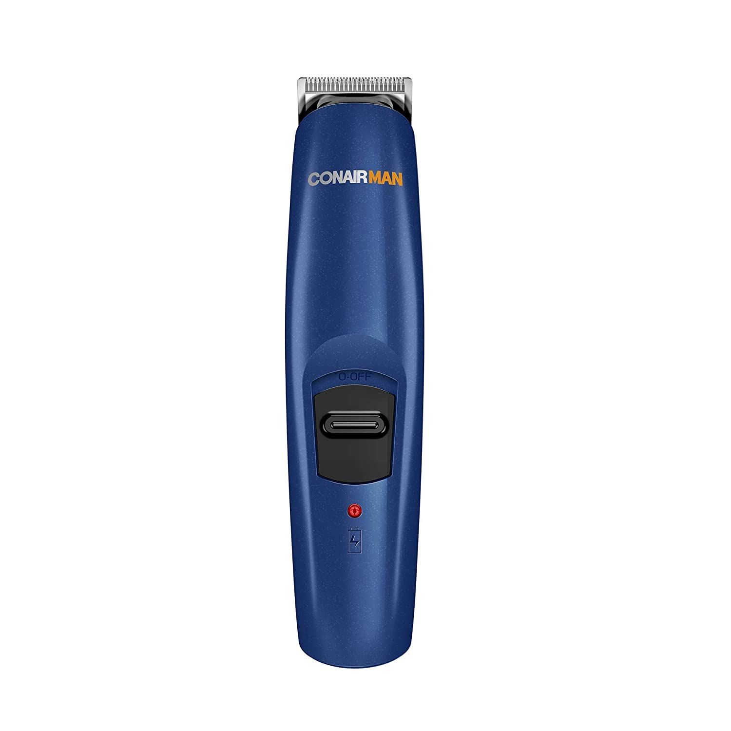 ConairMAN Beard & Mustache Trimmer, Cordless/Rechargeable GMT10RCSB