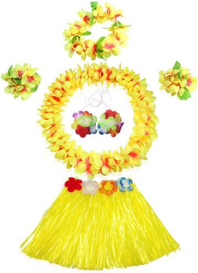 Black Temptation Hawaiano Multicolor Hermosa Falda Performance ...