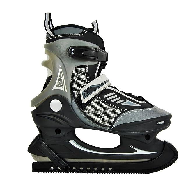 Hochwertige Herren Schlittschuhe Softboot Eislaufschuhe EishockeyJungen