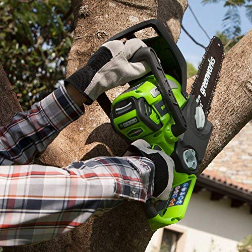 (Greenworks 12-Inch 40V Chainsaw, battery & Charger included 2000219)
