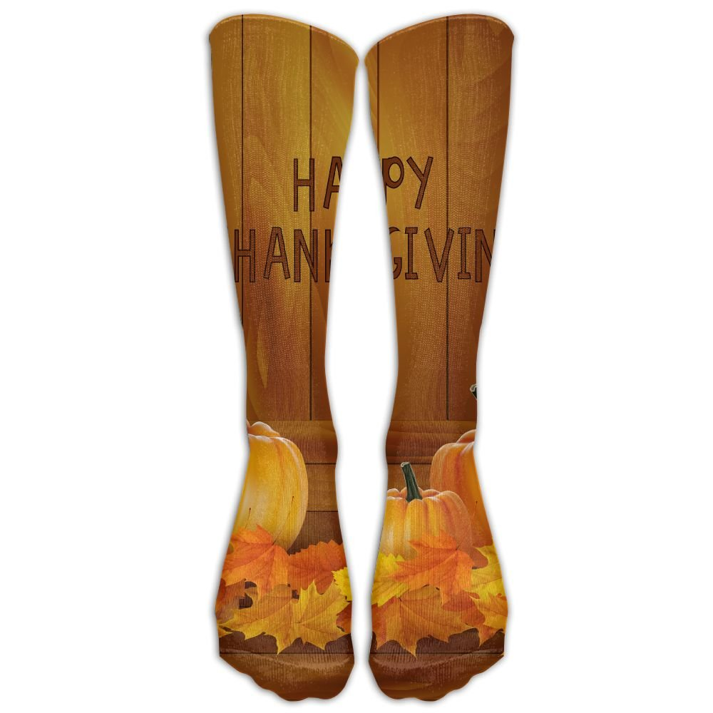 Xngtax Thigh High Socks Pumpkins Womans Mens Fashion Champion Athletic Leggings Knee High Stockings For Dress Sport