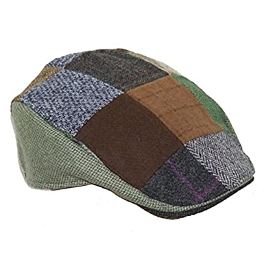 Hanna Hats Patchwork Donegal Touring Cap at Amazon Men s Clothing store  2f8822a2001