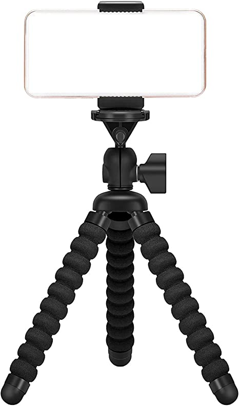 Amazon Com Ailun Digtal Camera Tripod Mount Stand Camera Holder For Iphone 12 12pro 12mini 12pro Max Iphone 11 11 Pro 11 Pro Max X Xs Xr Xs Max 8 7 Plus Digtal Camerara And More Black Electronics