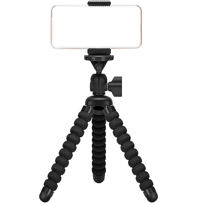 Ailun Digtal Camera Tripod Mount Stand Camera Holder for iPhone 11/11  Pro/11 Pro Max/X Xs XR Xs Max 8 7 7 Plus Digtal Camera Galaxy s10 plus S9+  S8 S7