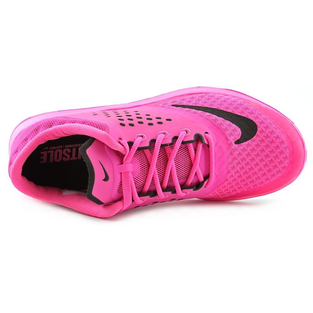 big sale 45763 31803 Galleon - Nike Womens FS Lite Run 2 Running Shoe Pink Pow White Black 8.5