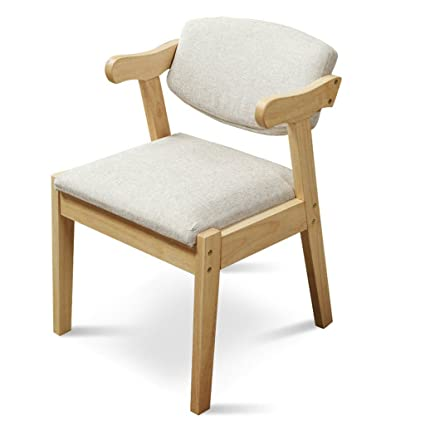 Amazon.com: LongYu Solid wood chair Modern and simple lounge chair ...