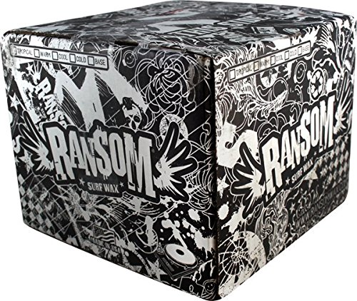 Ransom Jr Pro Tacky Warm/Trop Case 84 Surf Wax by Ransom Surf Wax