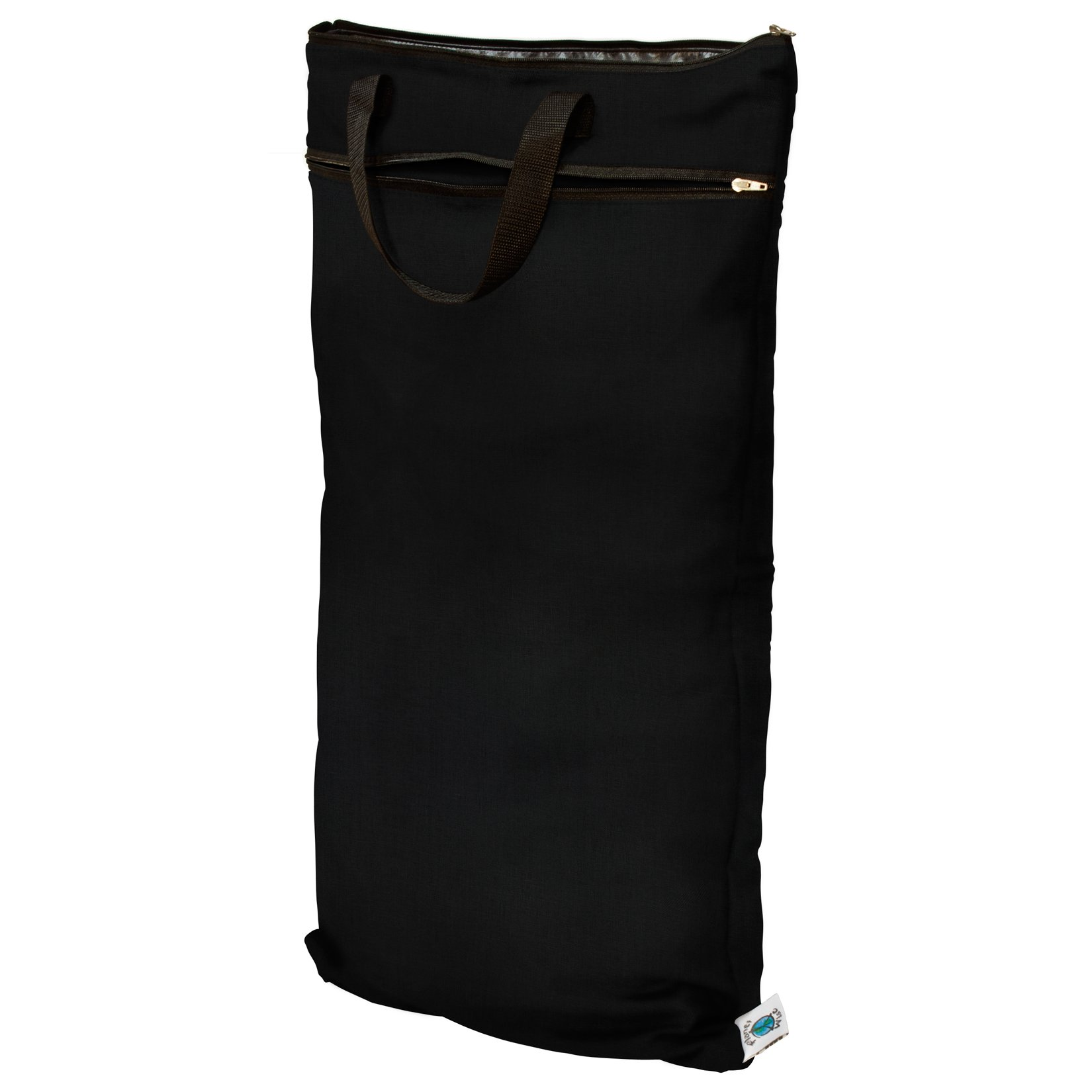 Planet Wise Hanging Wet/Dry Bag, Black