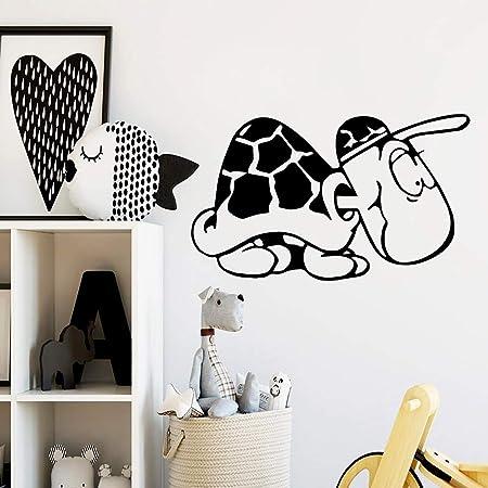 yaonuli Belleza Tortuga decoración Pegatinas salón Impermeable ...
