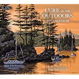 Lang 2017 Lure Of The Outdoors Wall Calendar, 13.375x24-Inch