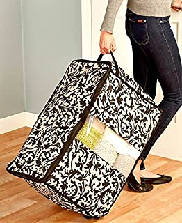 Perfect Rolling Window Storage Bags (Damask)
