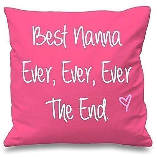 123RoyWarner - Funda de cojín Rosa para el Mejor Nanna Ever ...