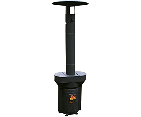 Q-Stoves Wood Pellet Outdoor Heater