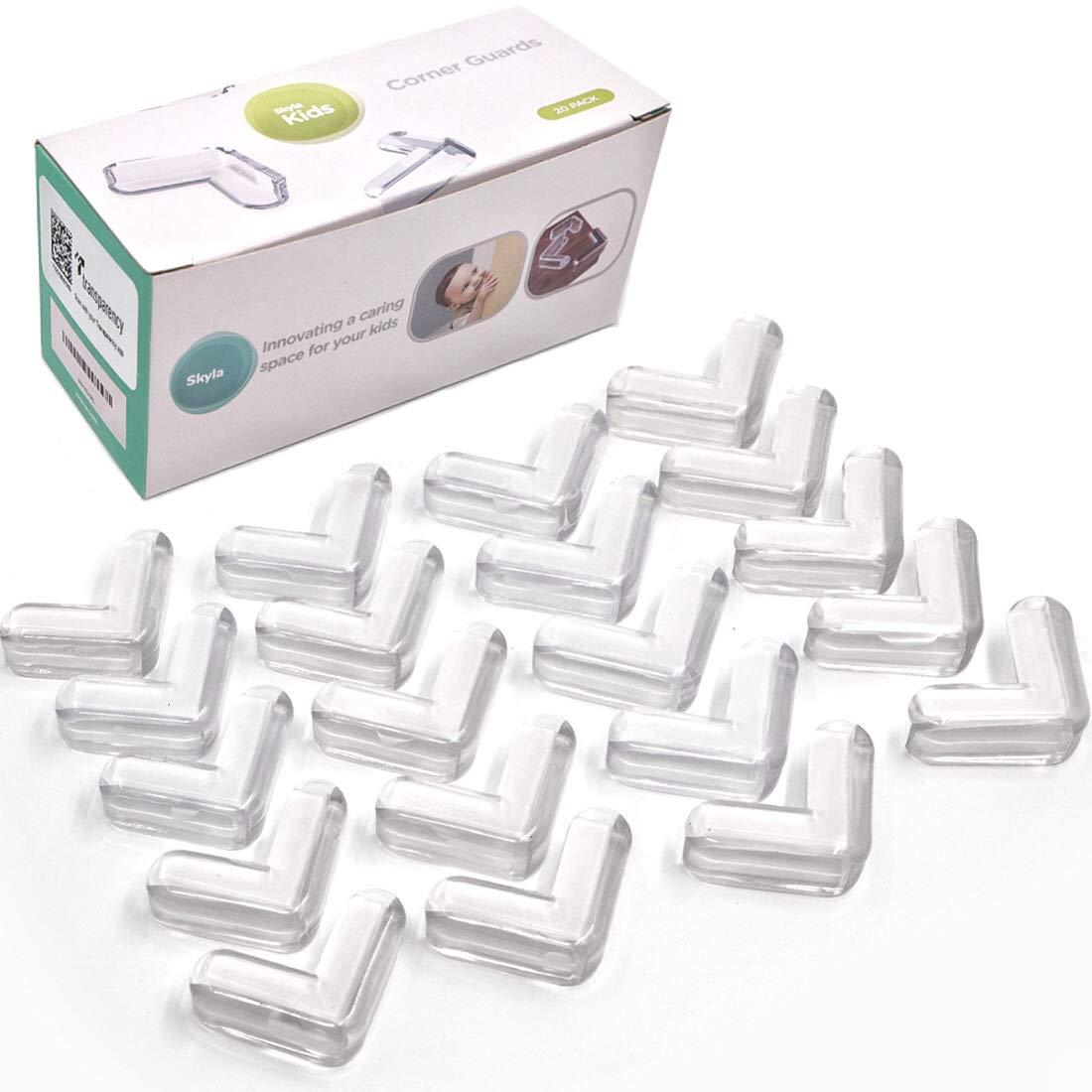 Skyla Homes ... Clear Corner Protectors 20-PackHigh Resistant Adhesive Gel