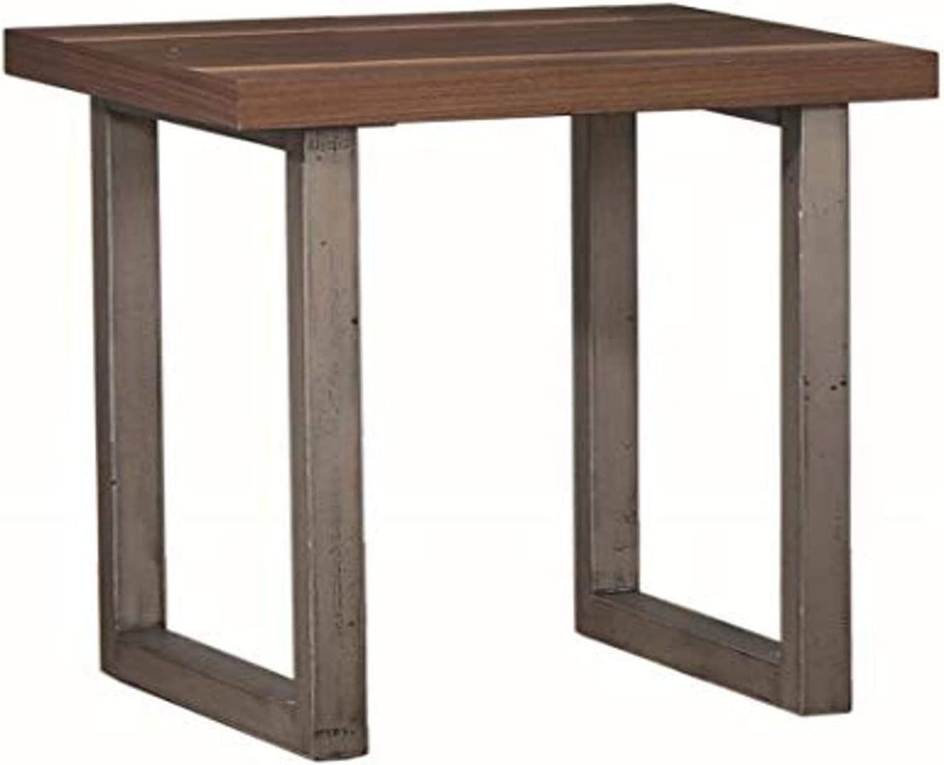 Coaster Home Furnishings End Table, Walnut/Espresso