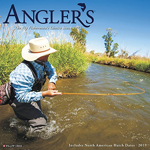 Angler's 2019 Wall Calendar