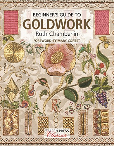 Check Out This Beginner's Guide to Goldwork (Search Press Classics)