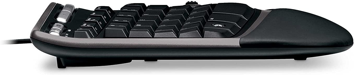 Microsoft Natural Ergonomic Keyboard 4000 for Business Wired Pack of 1