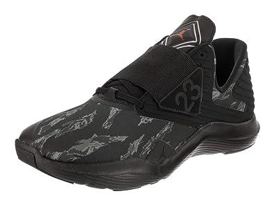 1e6473e1825 Jordan Nike Men's Relentless Black/Gym Red/Dk Smoke Grey Training Shoe 8.5  Men
