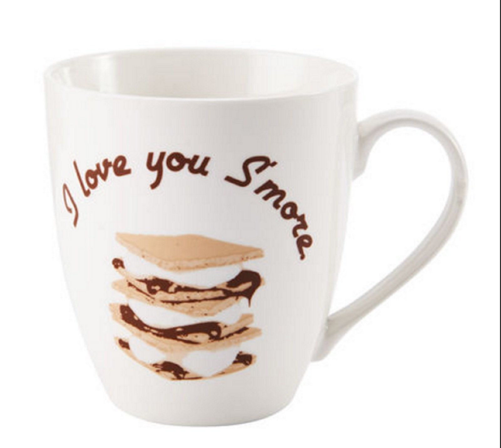 Pfaltzgraff Everyday I Love You Smore Large 18 Ounce Coffee Mug - White