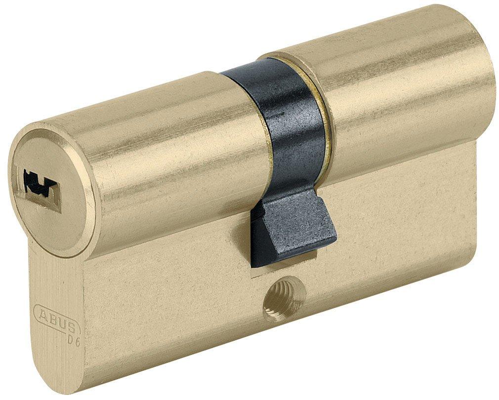 Abus 27053 - Cilindro de la puerta con llave, 35x45 mm, dorado: Amazon.es: Bricolaje y herramientas