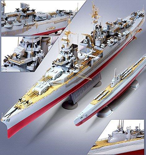 1/350 USS Indianapolis CA-35 & Submarine IJN I-58 W/Kaiten Premium Edition 14113
