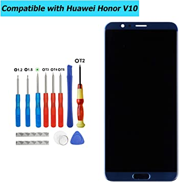 Upplus - Pantalla LCD de Repuesto Compatible con Huawei Honor V10 ...