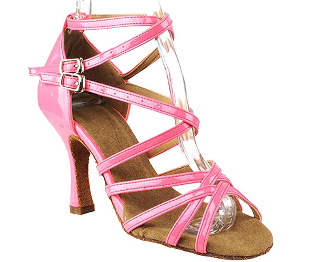 [DanceNwear] Very Fine靴Salseraシリーズsera5008 3 cmヒール社交靴 B018RFFD5Q 蛍光ピンク 7 B(M) US