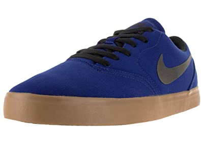 NIKE SB Check Cnvs Mens Trainers 705268 Sneakers Shoes (US 8, Deep Royal  Blue