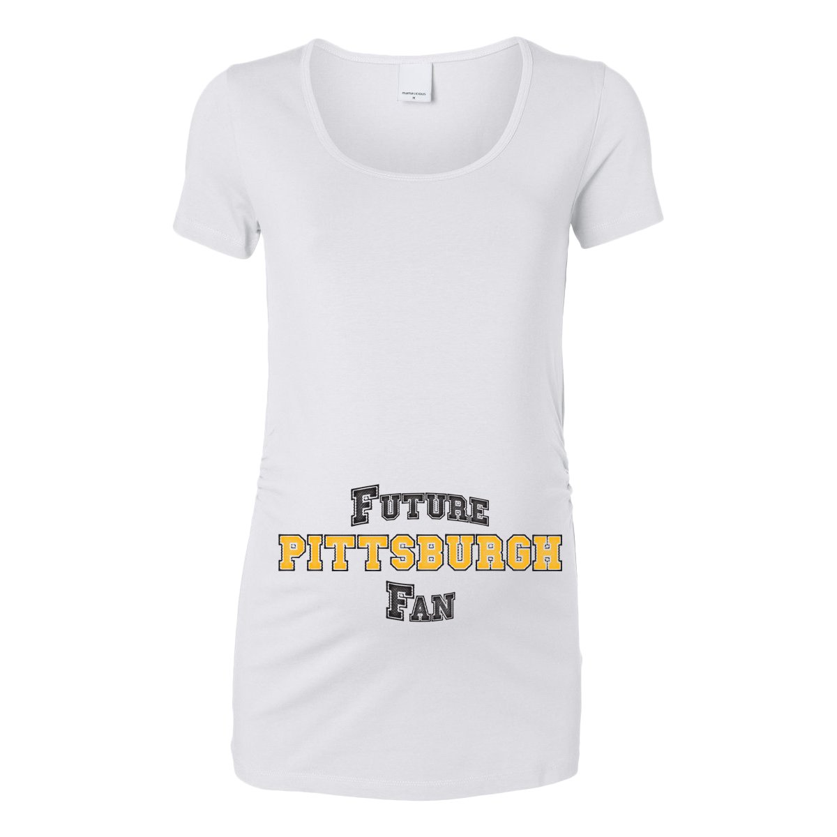 Future Pittsburgh Fan Women's Maternity T-Shirt 101909