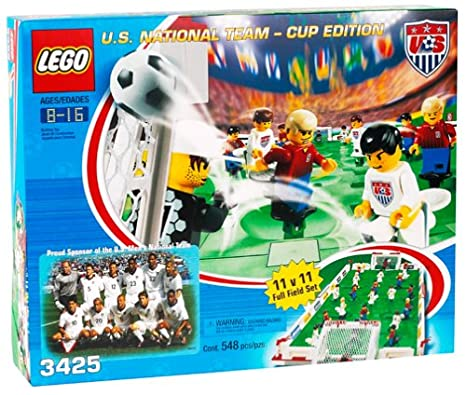 Lego us national team cup edition soccer field set 3425 new.