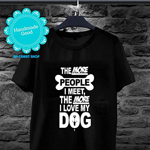 2ccc95563 Image Unavailable. Image not available for. Color: Funny Love My Dog T-Shirt  Gift ...