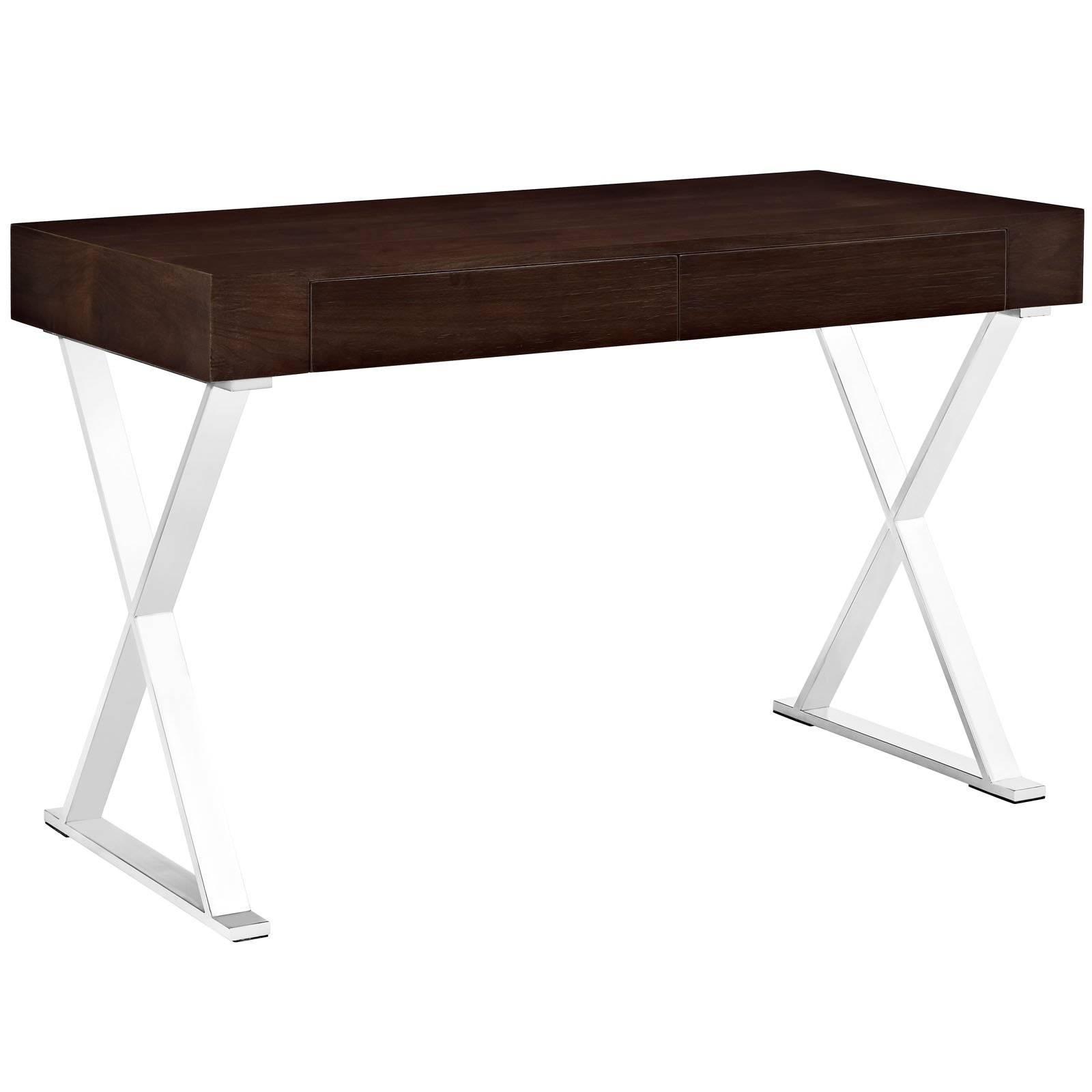 Modway Sector Office Desk in Walnut by Modway