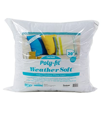 Amazon Com Fairfield Poly Fil Weather Soft Pillow Insert Perfect