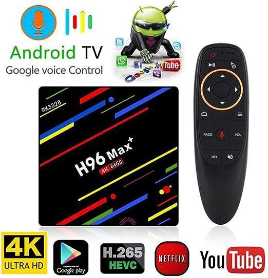 Android TV Box, 4K TV Set Top Box, Android 8.1 Sistema de TV Caja ...