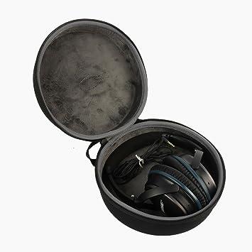co2CREA Duro EVA Storage Estuche Caja Bolsa Fundas para Headset/Auriculares Bose Quiet Comfort QC 25 Soundtrue/Sennheiser/Razer/Audio-Technita/Dr. Golpes/Sony/Photive/AKG/Bowers & Wilkins y más: Amazon.es: Electrónica