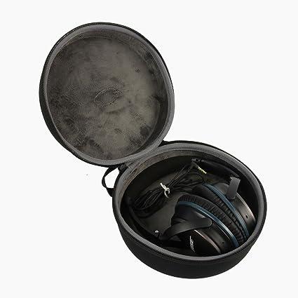 co2CREA duro EVA Storage Estuche Caja Bolsa Fundas para Headset / auriculares Bose Quiet Comfort QC